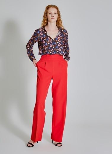 People By Fabrika Bel Detaylı Pantolon Bej